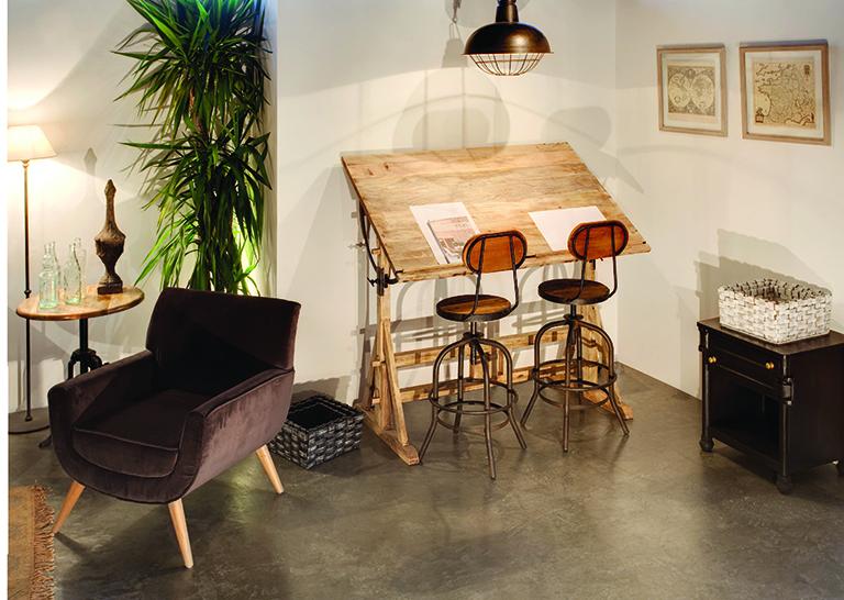 Estilo industrial y vintage muebles kimber for Muebles kimber