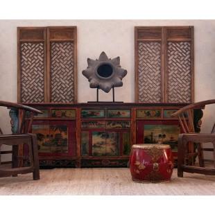 El estilo Oriental. Muebles con influencia de la dinastia Ming.