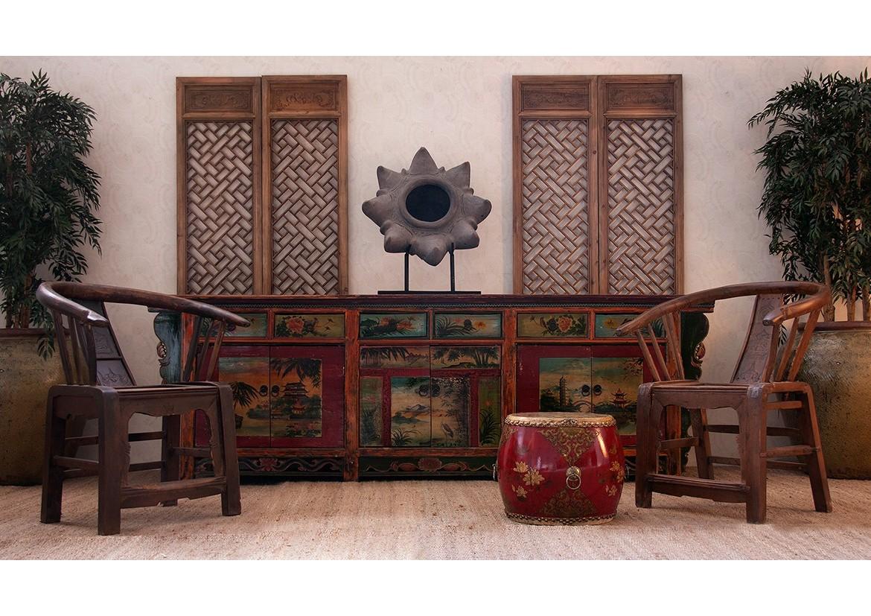 El estilo oriental muebles con influencia de la dinastia - Muebles de estilo oriental ...